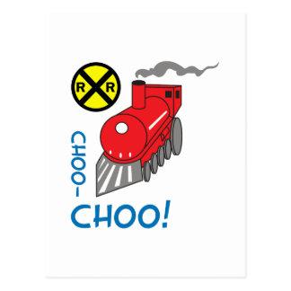 CHOO CHOOの列車 ポストカード