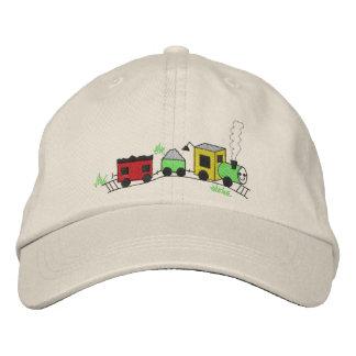 Choo Chooの列車 刺繍入りキャップ