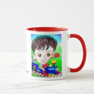 Choo Chooの風刺漫画のマグ13a マグカップ