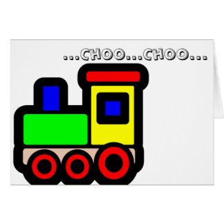 Choo… Chooカード カード