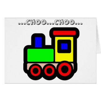 … Choo… Choo… カード