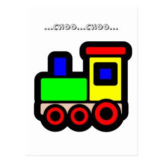 … Choo… Choo… ポストカード