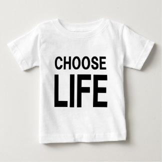 CHOOSE LIFE ベビーTシャツ