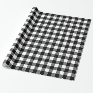 Choose Your Own Background Color Buffalo Plaid ラッピングペーパー