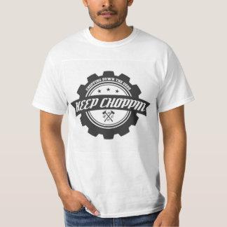 CHOPPINのティーを保って下さい Tシャツ