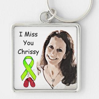 Chrissyを記念のキーホルダー恋しく思って下さい キーホルダー