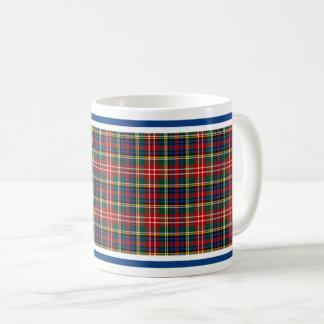 Christieの一族のタータンチェック コーヒーマグカップ