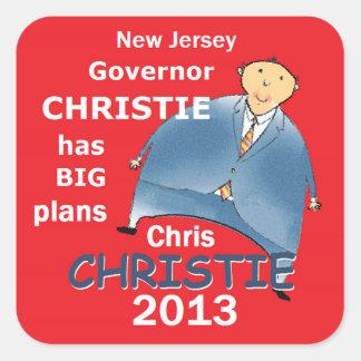 Christieの知事2013年 スクエアシール