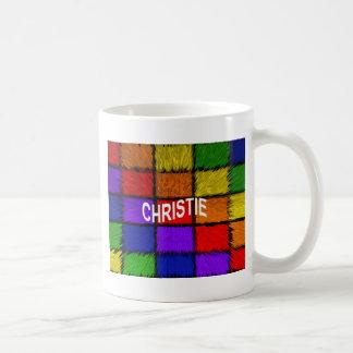 CHRISTIE コーヒーマグカップ
