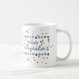 Christmas and Hanukkah Combo Mug コーヒーマグカップ