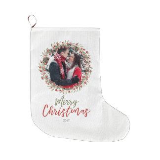 Christmas Berry Wreath | Keepsake Stocking ラージクリスマスストッキング
