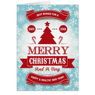 CHRISTMAS CARD カード