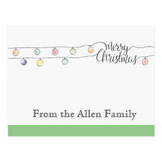 Christmas cards ポストカード