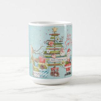 Christmas Holiday - Here Comes Santa コーヒーマグカップ