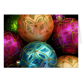 Christmas ornaments note/greeting Card 2 カード