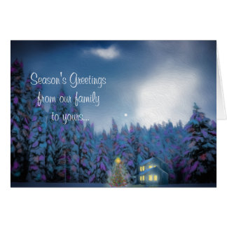 """Christmas Peace"" Greeting Card カード"