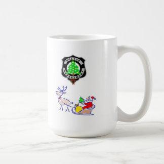 Christmas Police Gifts コーヒーマグカップ