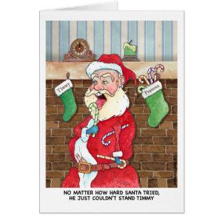 Christmas: Santas Internal Struggles カード