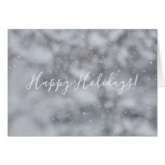 Christmas Snow Winter Snowflakes Snowy Greeting カード