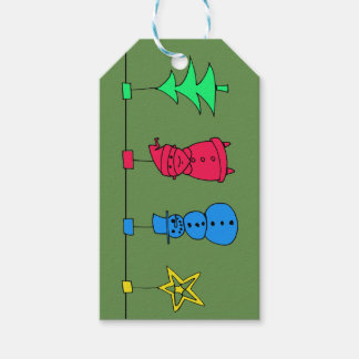 Christmas tree decorations ギフトタグ
