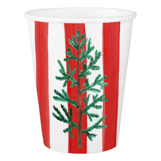 Christmas Tree Disposable Cups 紙コップ