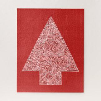 Christmas Tree Red ジグソーパズル