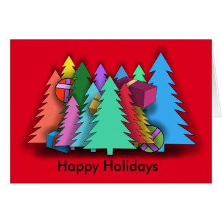 CHRISTMAS TREES by Slipperywindow カード