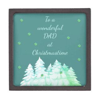 Christmastimeのすばらしいパパ ギフトボックス