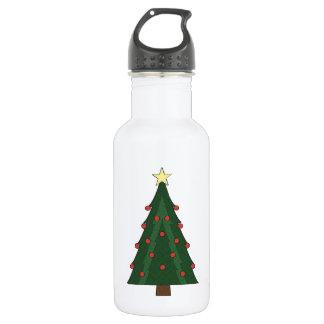 CHRISTMASTIMEの木 ウォーターボトル