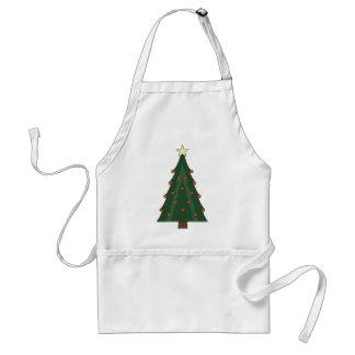 CHRISTMASTIMEの木 スタンダードエプロン