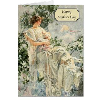 Christy -ヴィンテージの母の日ハワードのチャンドラー カード