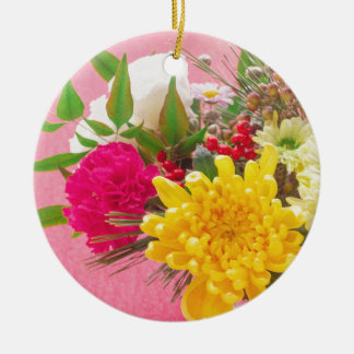 Chrysanthemum セラミックオーナメント