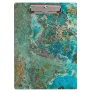 Chrysocollaの青い石造りのイメージ クリップボード