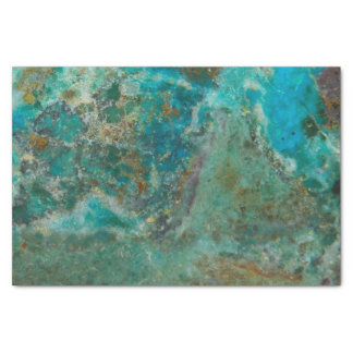 Chrysocollaの青い石造りのイメージ 薄葉紙