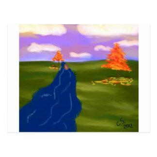 Chrystalの自殺による秋の天候 ポストカード