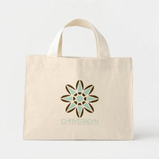 Chrystalynのロゴのバッグ ミニトートバッグ