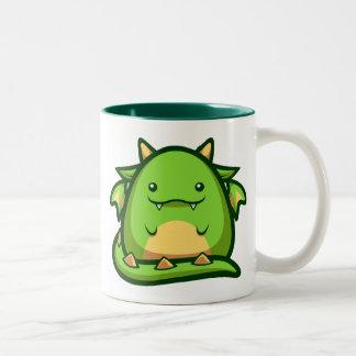 Chubsのドラゴンのマグ ツートーンマグカップ