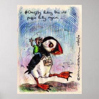 @Chuffty irkafirkaのプリント ポスター