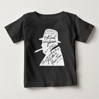 Churchillのベビーの暗いジャージーのTシャツ ベビーTシャツ