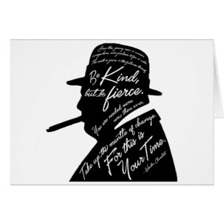 Churchillの挨拶状 カード