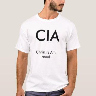 CIA、キリストは私が必要とするすべてです Tシャツ