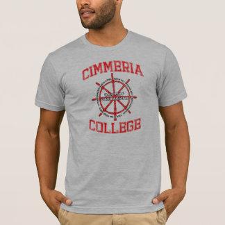 Cimmeriaの大学Battlinの野蛮人 Tシャツ