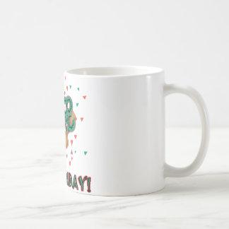 Cinco幸せなdeメーヨーの誕生日! コーヒーマグカップ