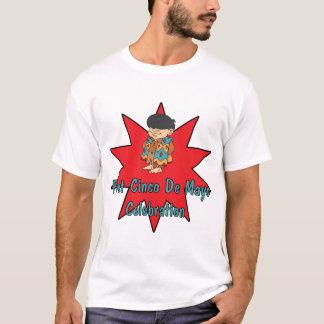 Cinco最初deメーヨーのCelebrationTワイシャツおよびギフト Tシャツ