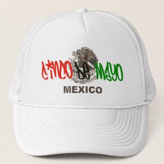 Cinco Deメーヨーのウィットのロゴの帽子 キャップ