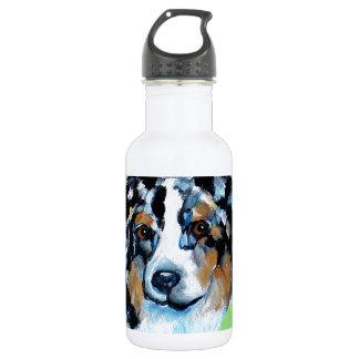 CINCO deメーヨーのオーストラリア人の羊飼い ウォーターボトル