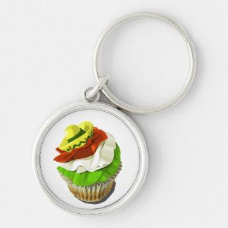 Cinco deメーヨーのカップケーキのkeychain キーホルダー