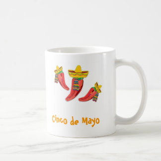 Cinco deメーヨーのマグ コーヒーマグカップ