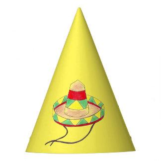 Cinco deメーヨーのメキシコフェスタのソンブレロを祝って下さい パーティーハット