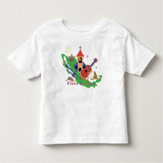 Cinco deメーヨーの幼児のTシャツ トドラーTシャツ